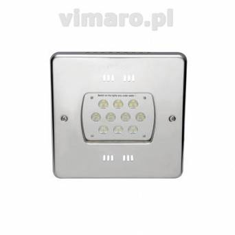Lampa POWER LED 30er/28er 24 V, 270 mm, 80 W, 13900 lm kwadrat